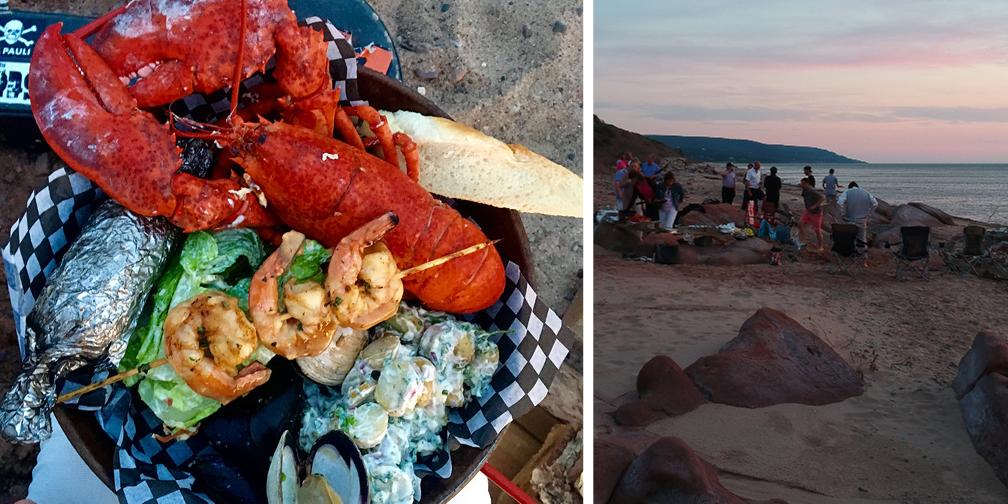Beach Lobster Boil 2